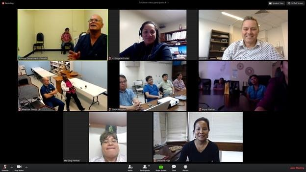 Launch of Distance Learning Sessions for Pacific Island Health Care Providers has Immediate Results